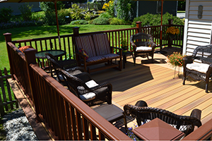 Deck Materials & Railings